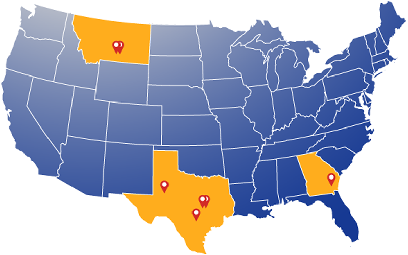 Contact Us LF Manufacturing - Gun manufactoring factories in the us map
